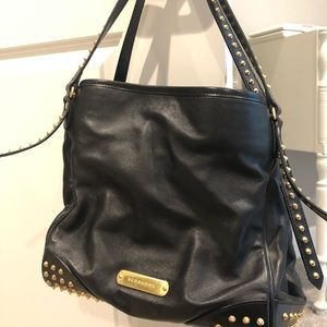 Gorgeous Black Authentic Burberry Shoulder Bag